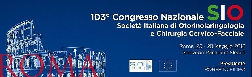 Vi invitiamo al Congresso SIO 2016