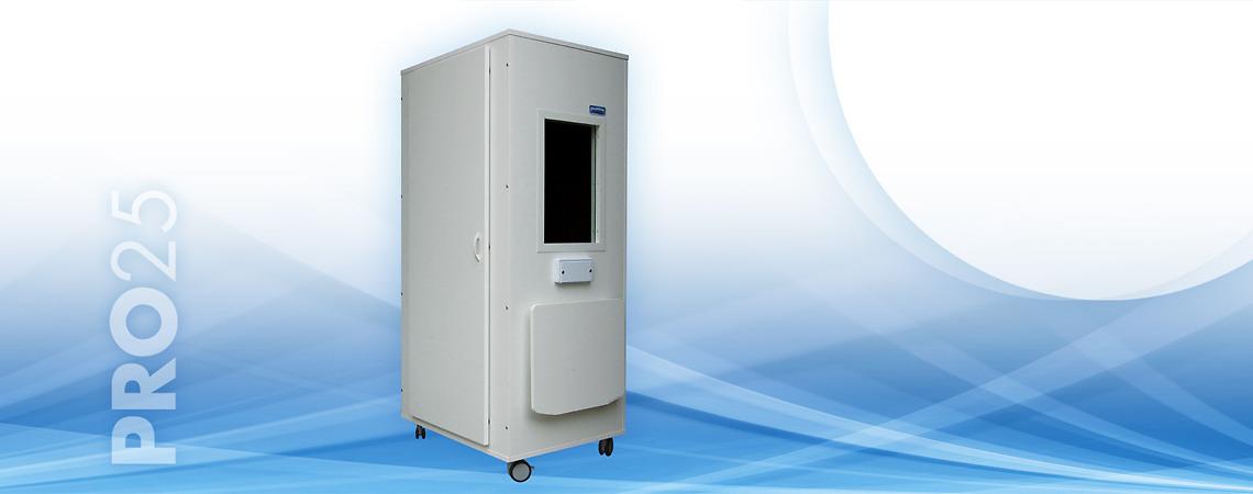 Cabina insonorizzata per esame audiometrico pumapro25 - Porta insonorizzata ...